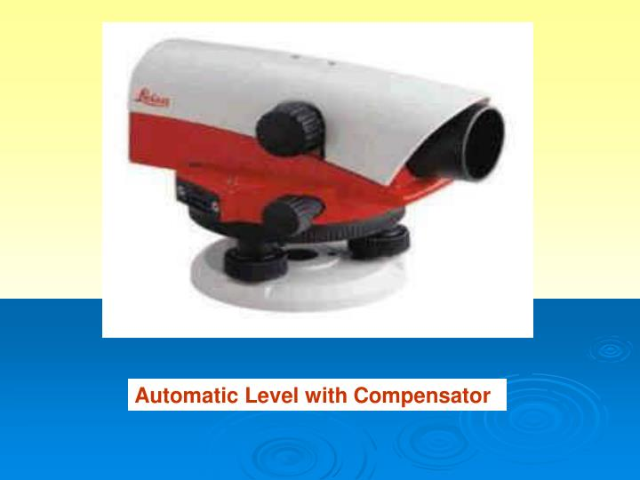 Automatic Level with Compensator