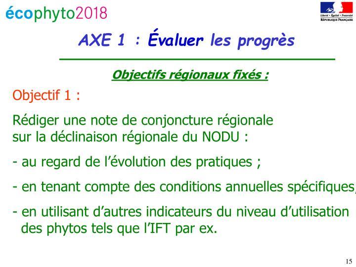 AXE 1 :