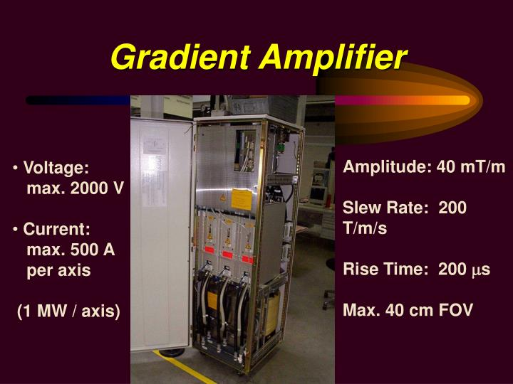 Gradient Amplifier
