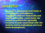 local limits