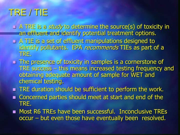 TRE / TIE