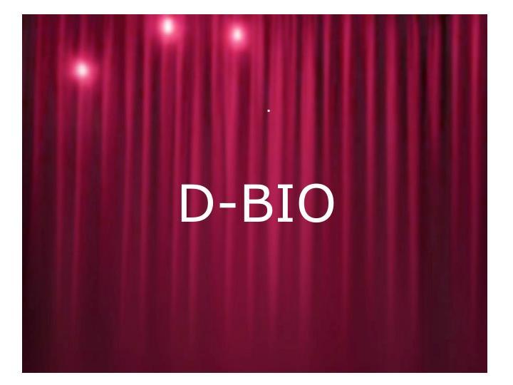 D-BIO