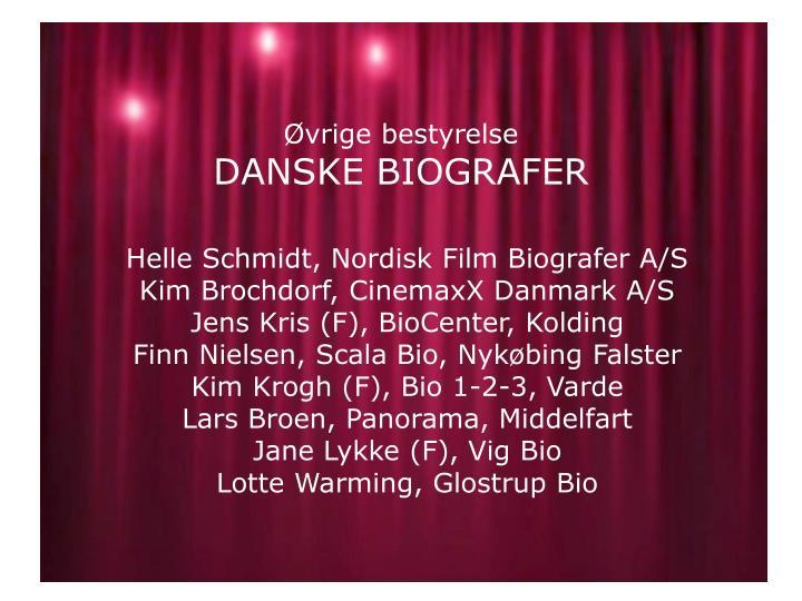 Helle Schmidt, Nordisk Film Biografer A/S