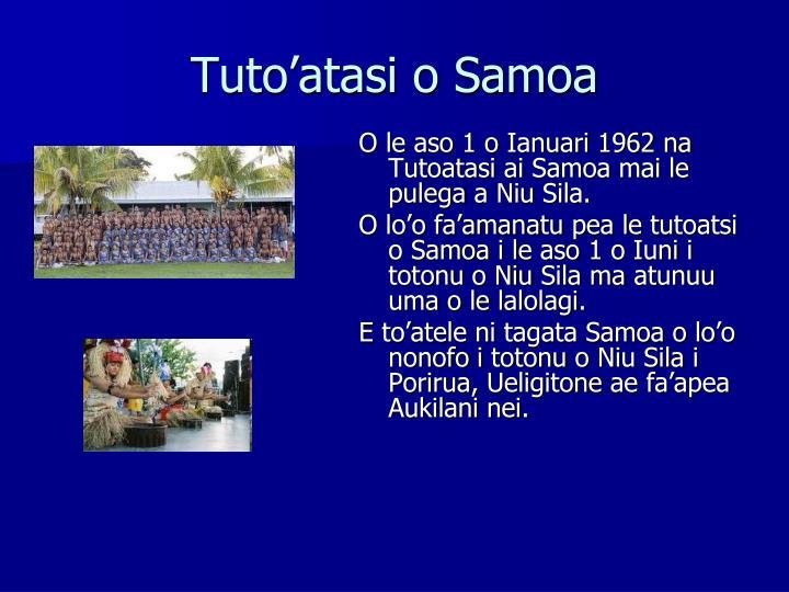 Tuto'atasi o Samoa