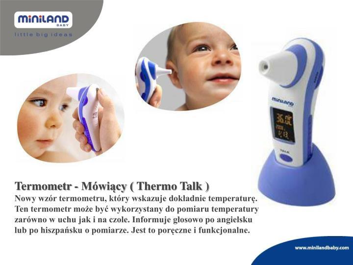 Termometr - Mówiący (