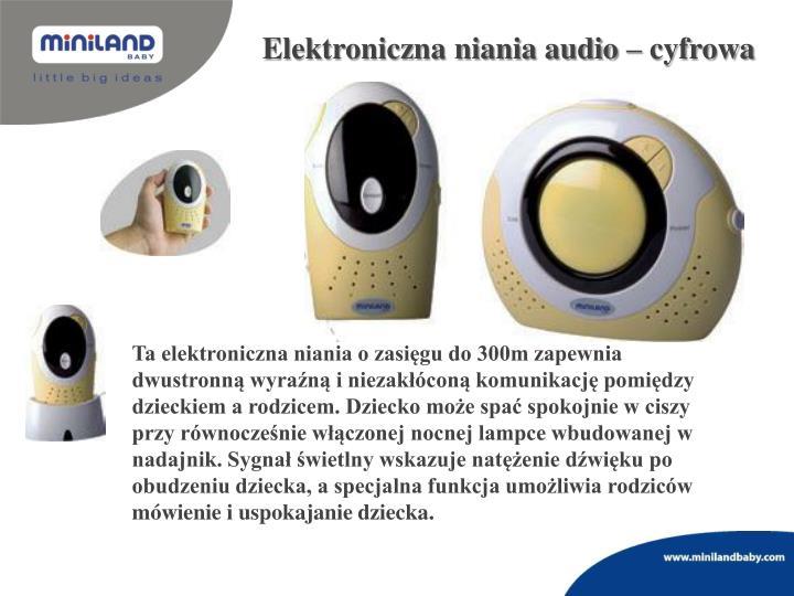 Elektroniczna niania audio – cyfrowa