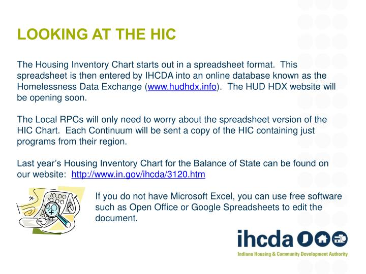 Looking at THE HIC