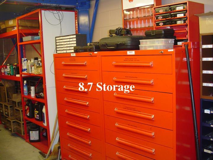 8.7 Storage