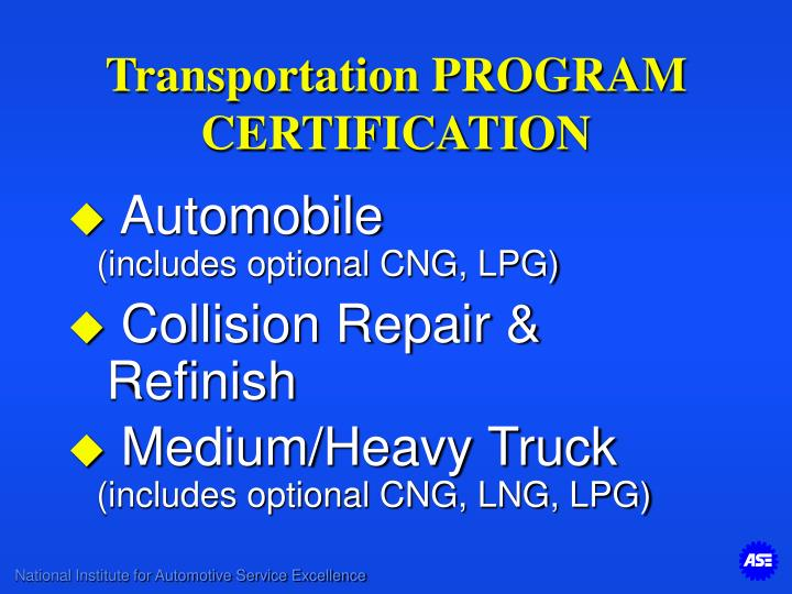 Transportation PROGRAM