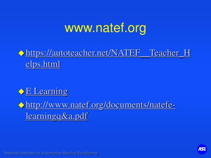 www.natef.org