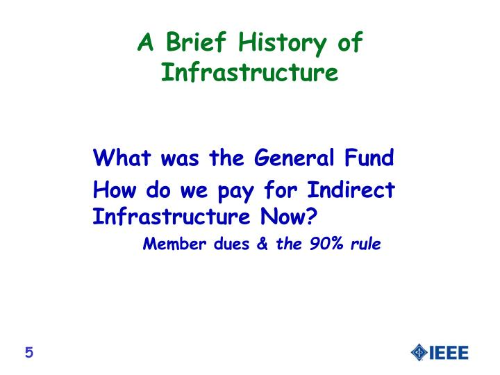 A Brief History of Infrastructure