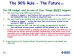 the 90 rule the future 2