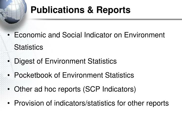 Publications & Reports
