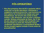 p s operat rio