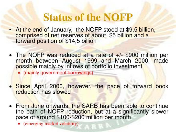 Status of the NOFP