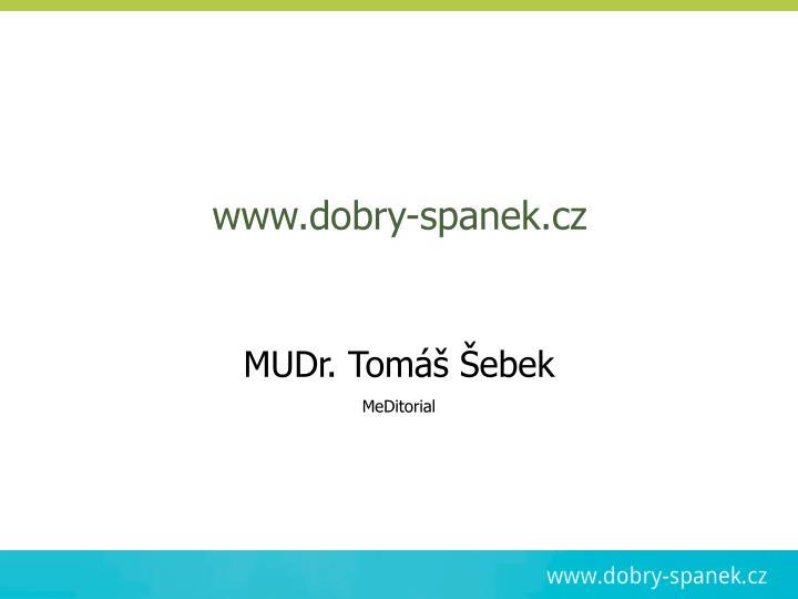 www.dobry-spanek.cz