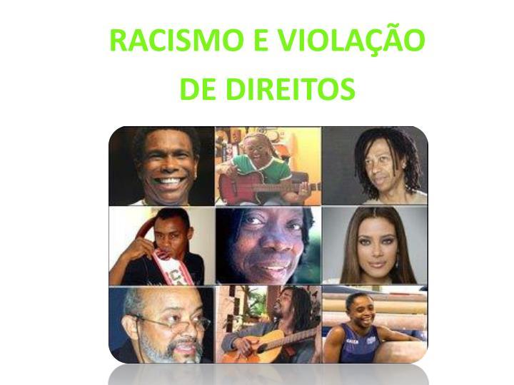 Racismo e violação