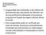 racismo institucional por carmichael e hamilton 1967