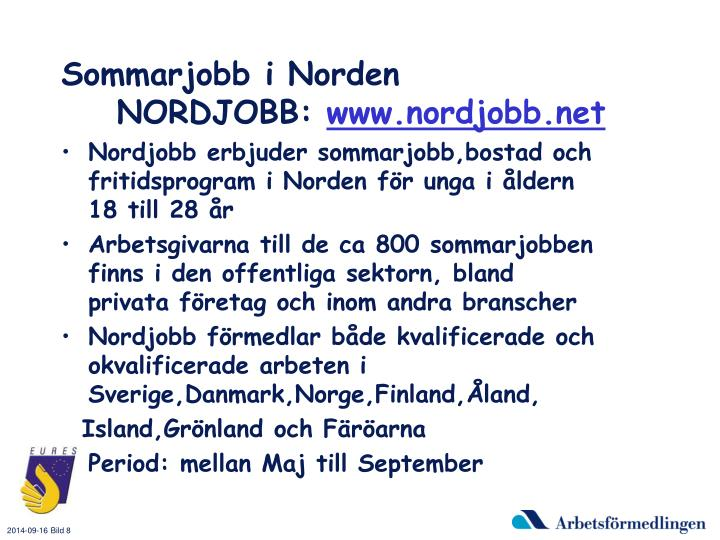 Sommarjobb i Norden