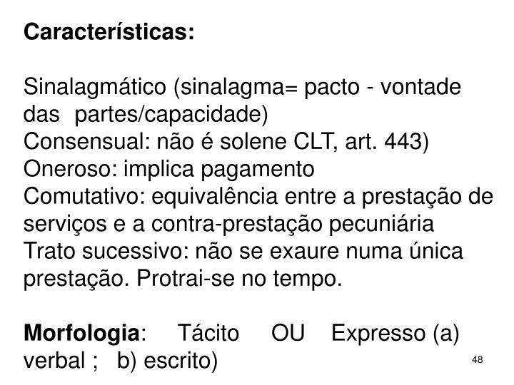 Caractersticas: