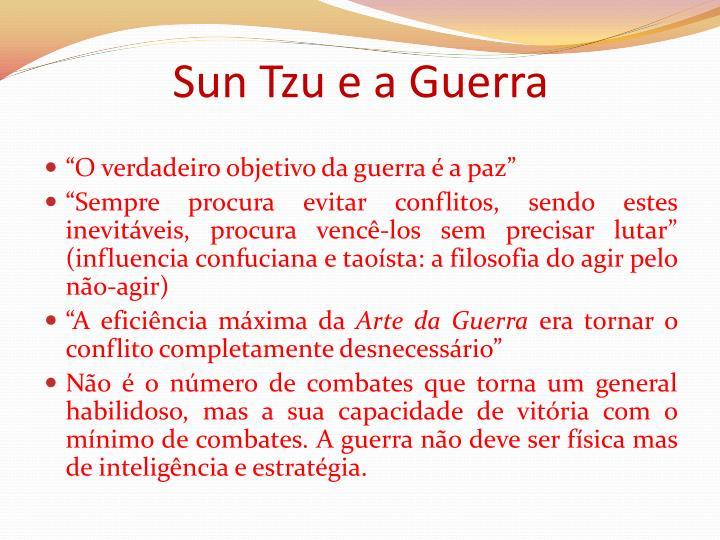 Sun Tzu e a Guerra