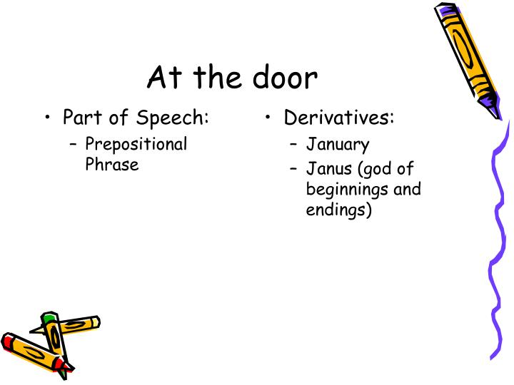 Part of Speech:
