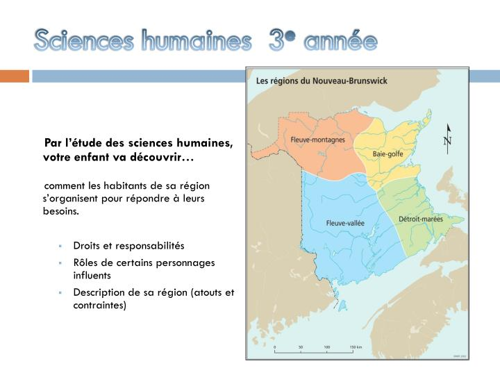 Sciences humaines  3