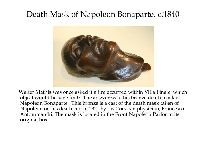 Death Mask of Napoleon Bonaparte, c.1840