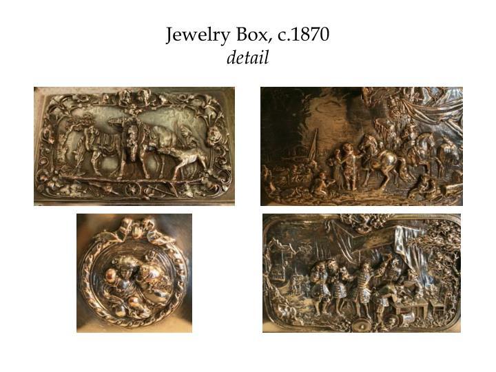 Jewelry Box, c.1870