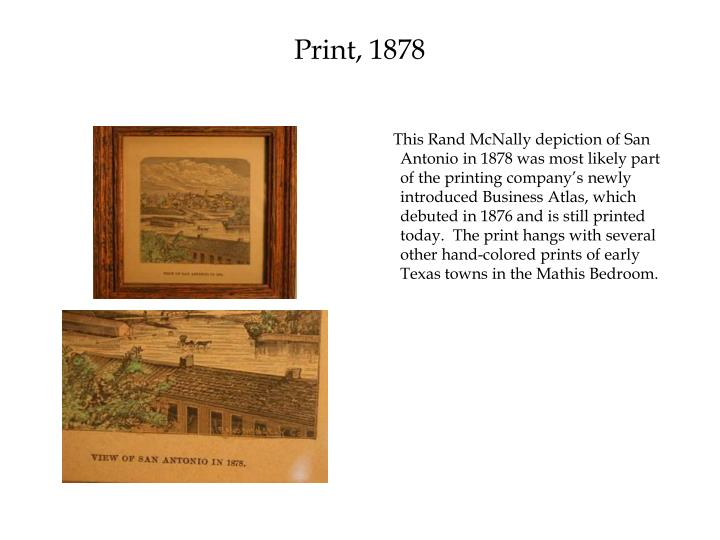 Print, 1878