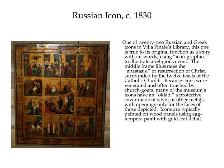 Russian Icon, c. 1830