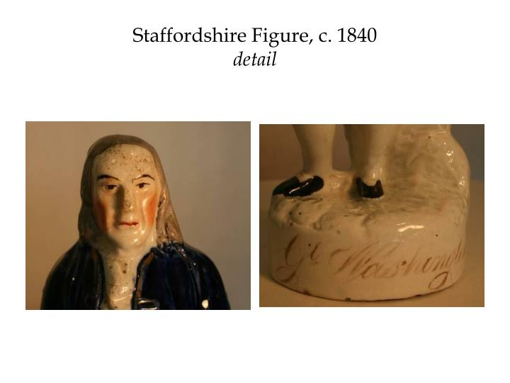 Staffordshire Figure, c. 1840