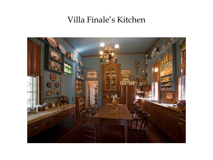 Villa Finale's Kitchen