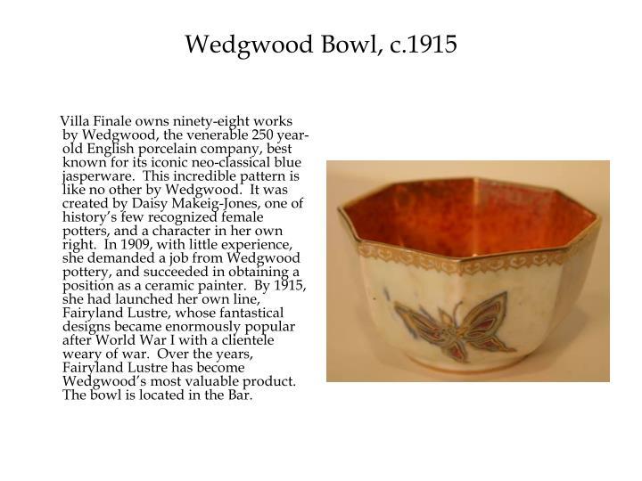 Wedgwood Bowl, c.1915