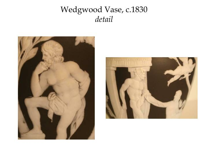 Wedgwood Vase, c.1830