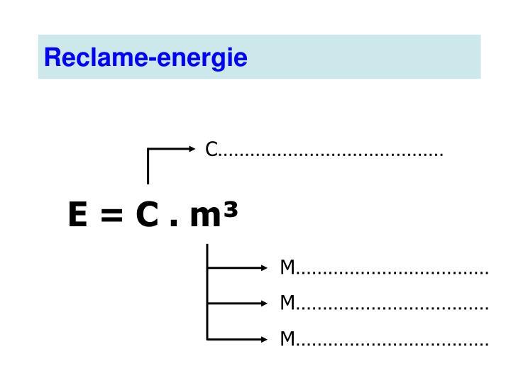 Reclame-energie