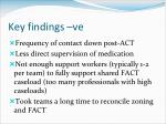 key findings ve2