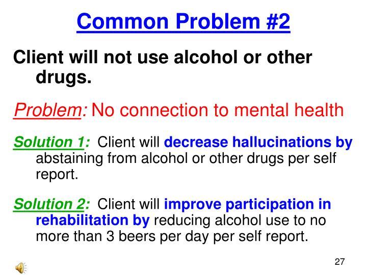 Common Problem #2