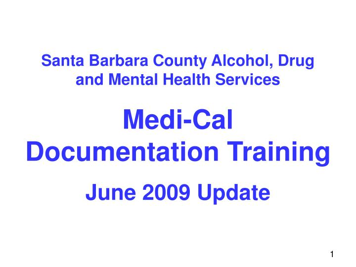 Santa Barbara County Alcohol, Drug