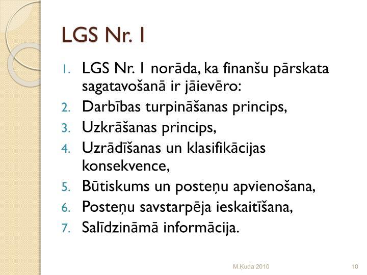 LGS Nr. 1