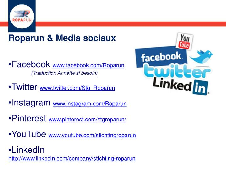 Roparun & Media sociaux