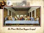 da vinci the last supper c 1495