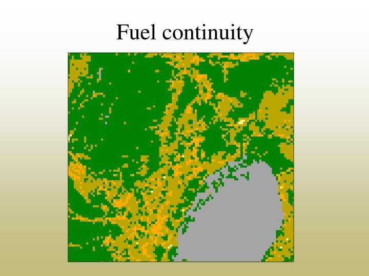 Fuel continuity