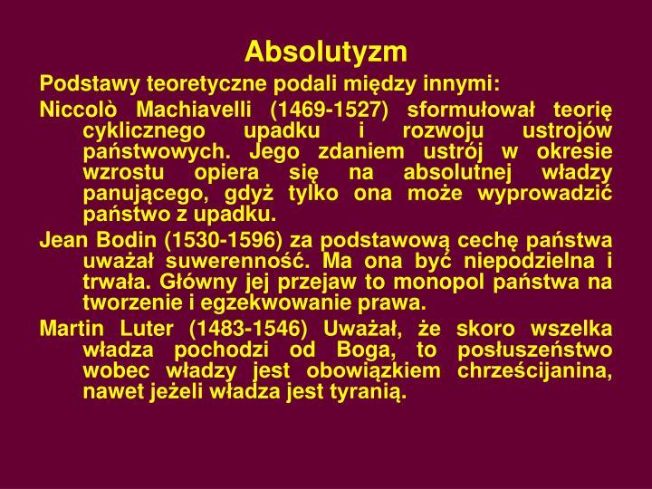 Absolutyzm