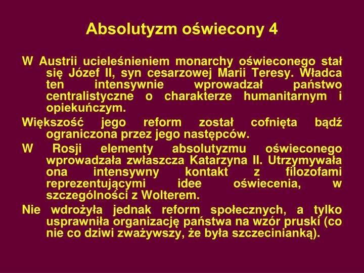 Absolutyzm oświecony 4
