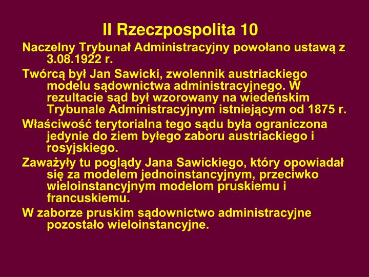 II Rzeczpospolita 10