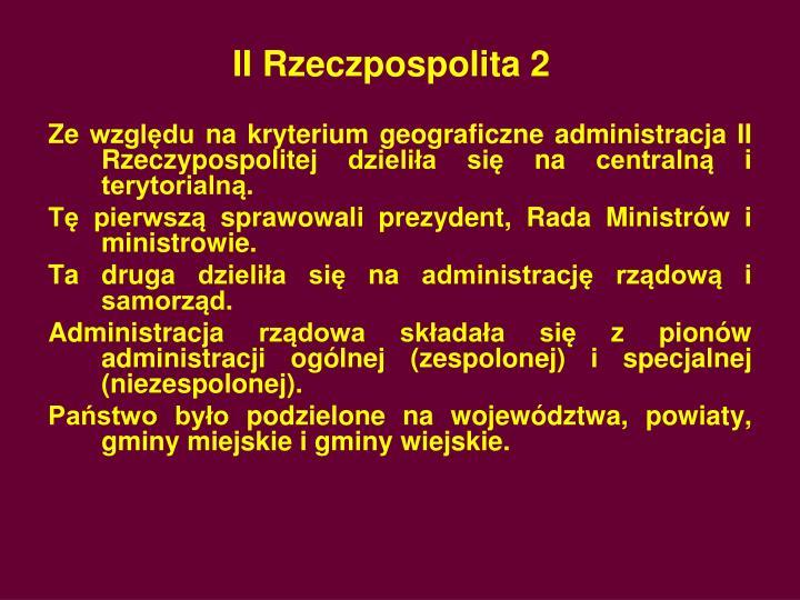 II Rzeczpospolita 2