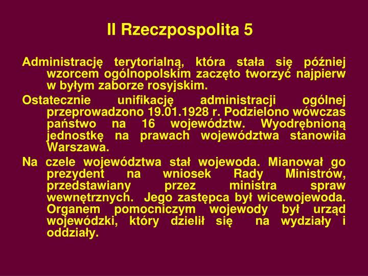 II Rzeczpospolita 5