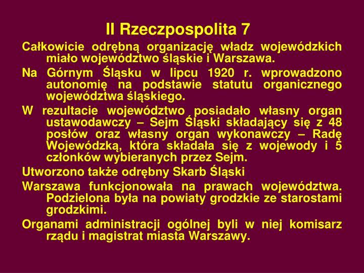 II Rzeczpospolita 7