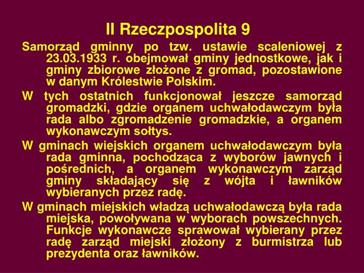 II Rzeczpospolita 9